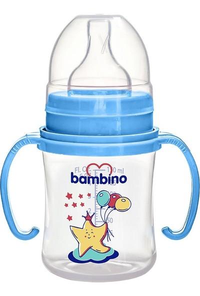 Bambino Geniş Ağızlı Kulplu PP Biberon 150 ml Deniz Yıldızı