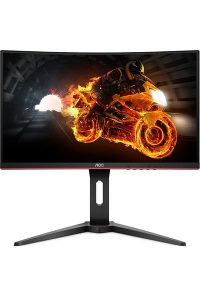 """AOC C27G1 27"""" 144Hz 1ms (Analog+HDMI+DisplayPort) FreeSync Full HD Curved Oyuncu Monitör"""