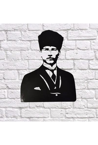 Foccaa Dizayn M. Kemal Atatürk Portre Metal Tablo