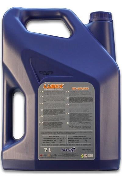 Lubex SD 20W-50 7 Litre Motor Yağı ( Üretim Yılı: 2021 )