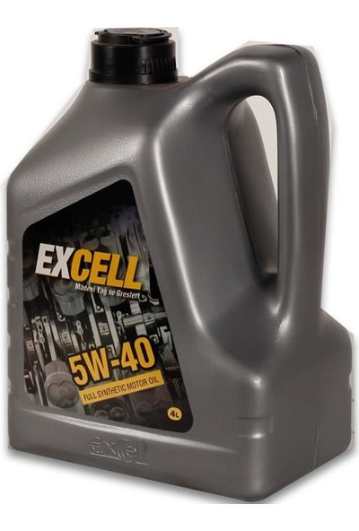 Uberlub Excell Extreme 5W/40 Sentetik Bazlı Motor Yağı ( Apı Cı-4 ) 4 Litre