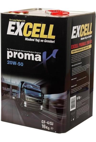 Uberlub Excell Promax 20W/50 ( Apı Cf-4) 16 Litre Teneke Motor Yağı