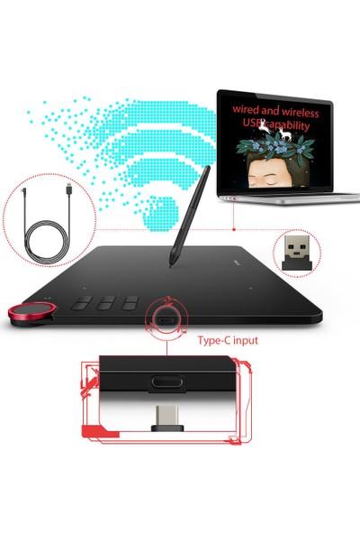 Xp-Pen Deco 03 Wireless ISM 2.4G Profesyonel Grafik Tablet