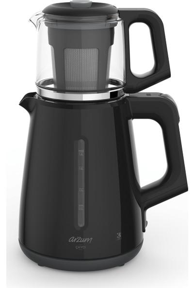 Arzum Ar3061 Çaycı Çay Makinesi - Siyah
