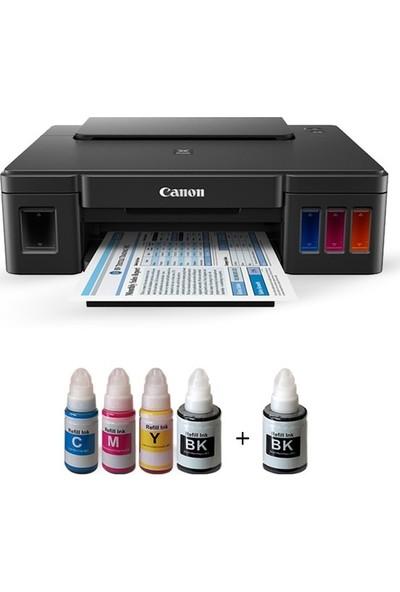 Canon Photoink Mürekkepli Canon Pıxma G1410 Yazıcı Ve Bitmeyen Kartuş Sistemi