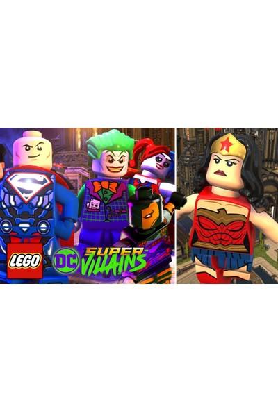 LEGO DC Super Villains PS4 Oyun