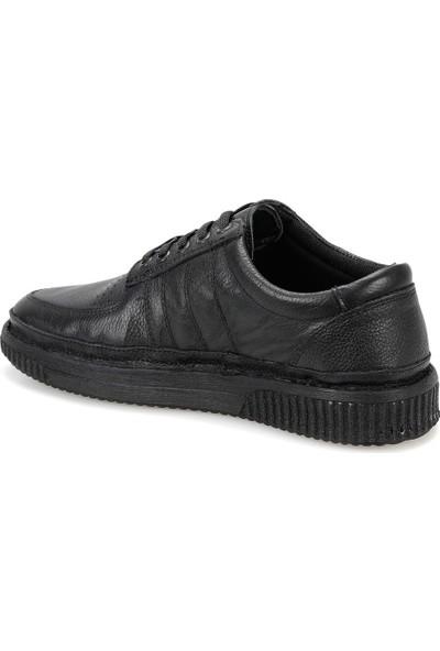 Flogart Zb-2 Siyah Erkek Deri Modern Ayakkabı
