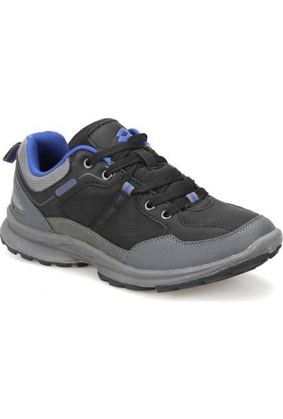 Lotto Steeve Siyah Koyu Gri Mavi Erkek Sneaker Ayakkabı