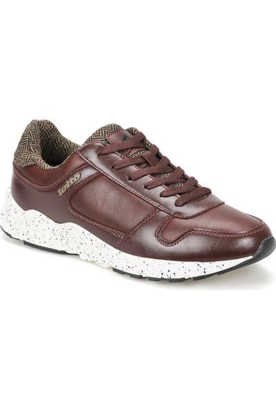 Lotto Thedor Amf Bordo Kahverengi Siyah Erkek Sneaker Ayakkabı