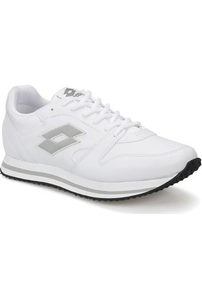 Lotto Trainer Pu Beyaz Gri Erkek Sneaker Ayakkabı
