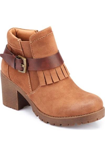 Polaris 82.309403.Z Camel Kadın Ayakkabı