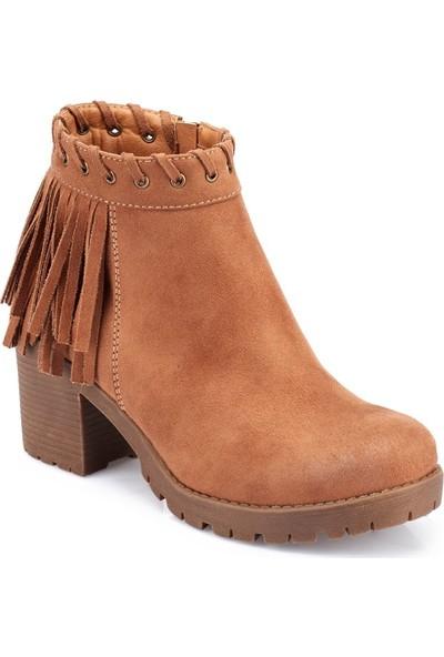 Polaris 82.309407.Z Camel Kadın Ayakkabı