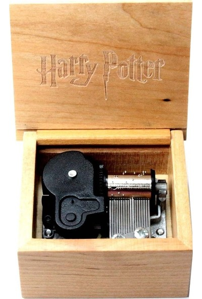 Harry Potter Kurmalı Müzik Kutusu