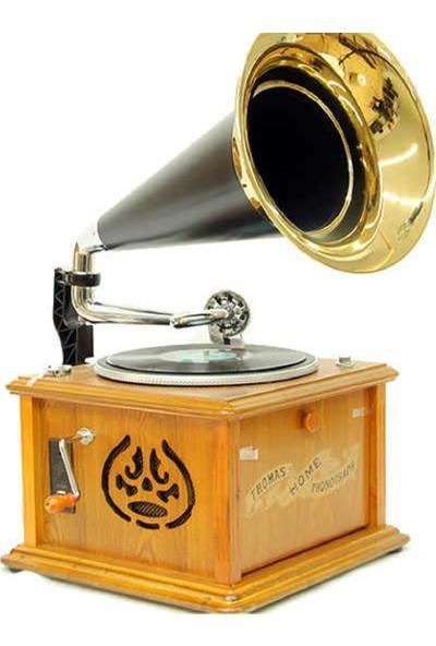 Crown Well Gramofon Kare Pikap