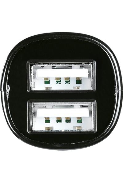Hama Hızlı Araç Şarj Cihazı Çift Giriş 2XUSB 4200 mAh Siyah - HM.108333
