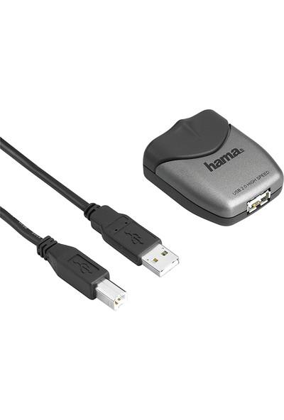 Hama USB Uzatma 2.0 A Fiş - A Soket Siyah 5 m HM.42070