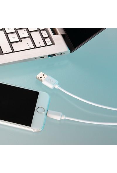 Hama Lightning USB Apple iPhone Şarj/Data Kablosu 1 m Beyaz HM.173863