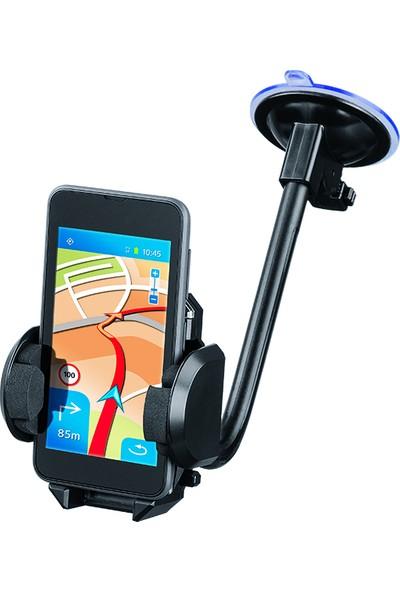 Hama Araç İçi Telefon Tutucu Universal 2in1 - Siyah HM.11864