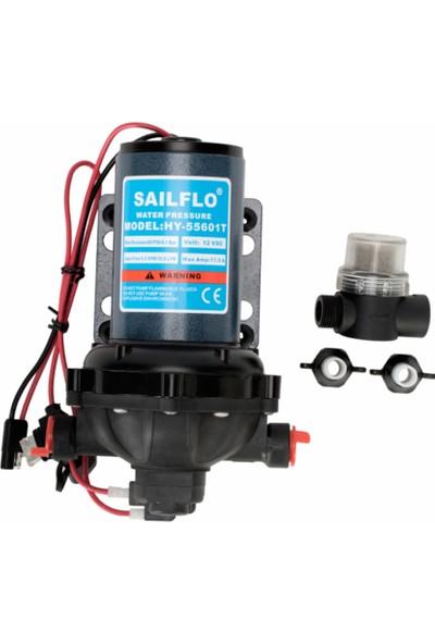 Sailflo Hidrofor Pompa 24V 20Lt/Dk 60PSI ( 4,2Bar)