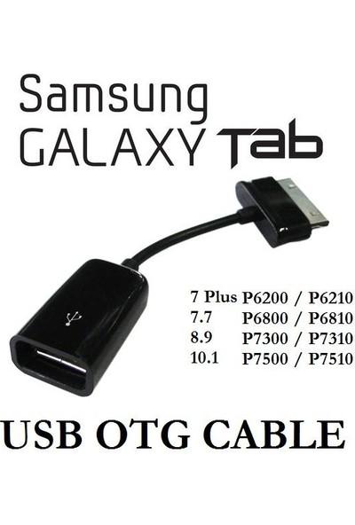 Kuvars Samsung Galaxy Tab Tab 2 Note 10.1 Usb Otg Kablo Host Kablo