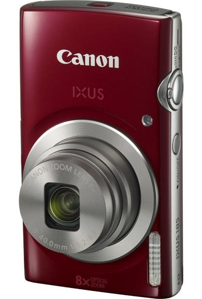 Canon Ixus 185 Digital Fotoğraf Makinesi Kırmızı
