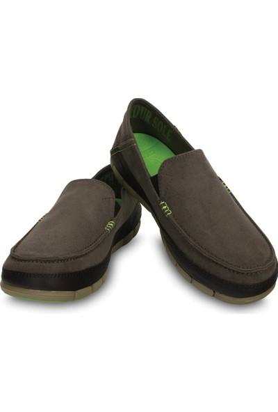 Crocs Stretch Sole Microsuede Loafer Erkek
