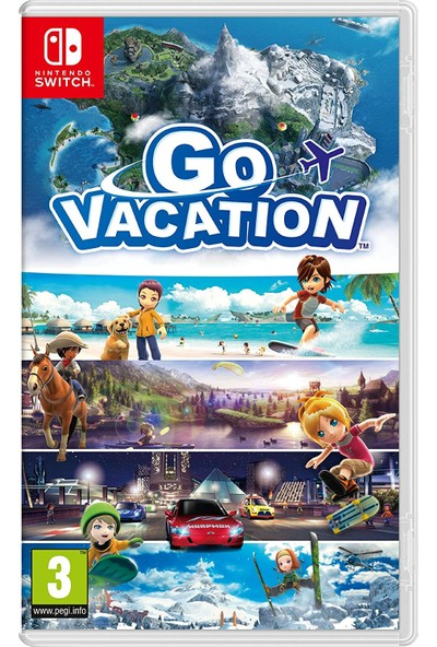 Nintendo Go Vacation Nintendo Switch Oyun Cd Medya