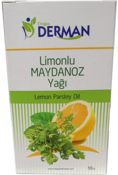 Doğa Derman Limonlu Maydanoz Yağı 50 cc