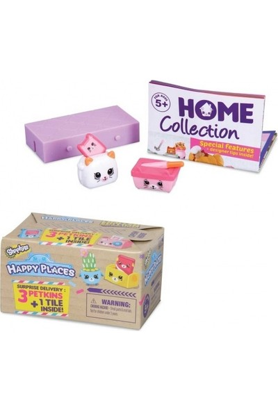 Giochi Preziosi Shopkins Happy Places Cicibiciler Kargo Paketi