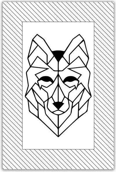 Art By Cadran 30x45 Cm MDF Tablo SCC154