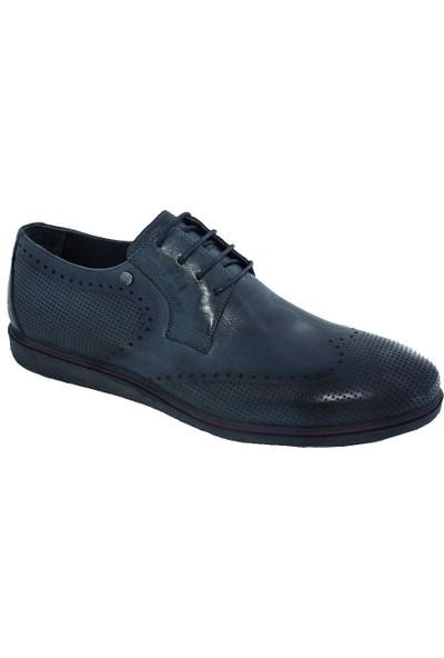 Luciano Bellini 2204 Deri Erkek Ayakkabı Lacivert