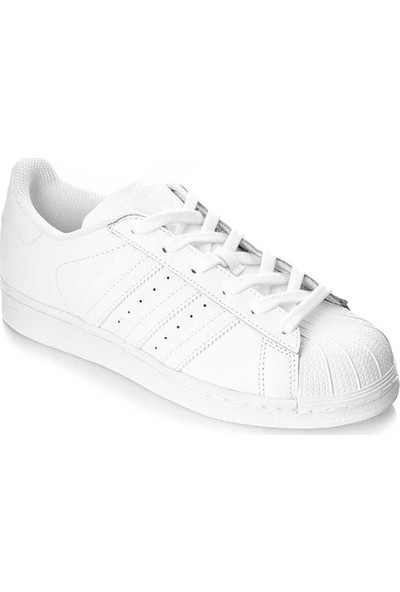 adidas Superstar C77124 Erkek Spor Ayakkabı Beyaz