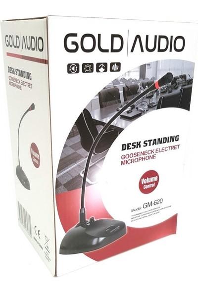 Gold Audio Gm-620 Masa Üstü Kablolu Kürsü Mikrofon