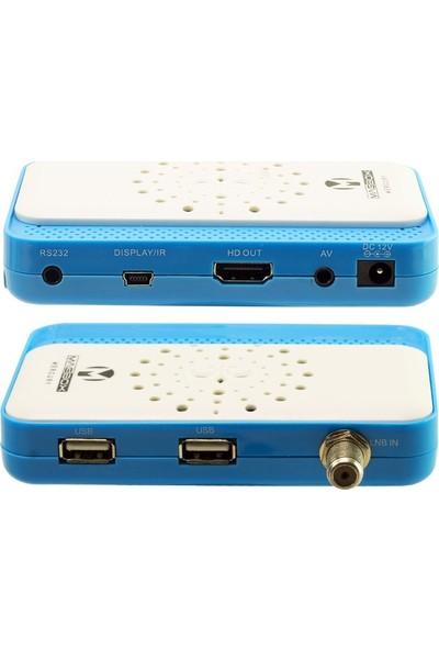 Magbox Mercury Full Hd Çift Usb Li Mini Uydu Alıcısı Tkgs Li