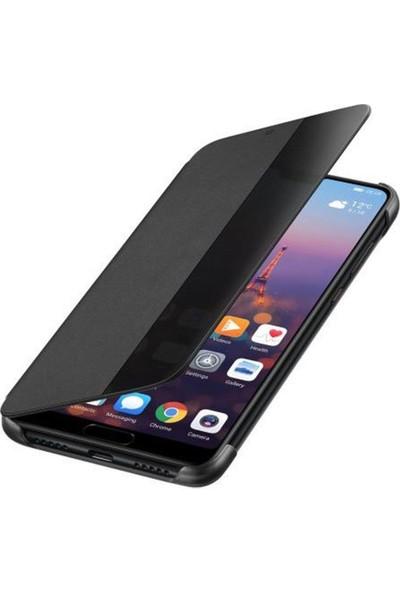 Huawei Emily P20 Smart View Cover - Siyah