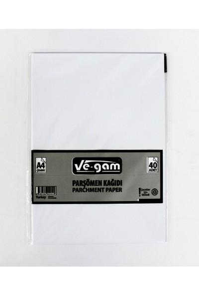 Vegam 40'Lı Fotokopi Kağıdı A4 Parşömen Kağıdı