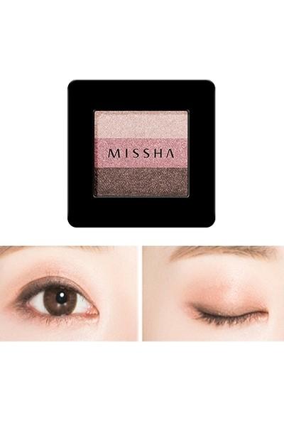 Missha Triple Shadow (No.10/Oriental Pink)