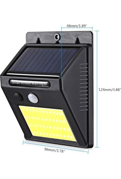 Solar Güneş Enerjili Şarj Olabilen 48 Ledli Bahçe Lambası