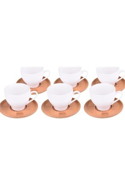 Bambum Fhuye 6 Kişilik Kahve Fincan Takımı B0292