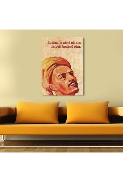 Agf Tablo Yunus Emre Dekoratif Tek Parça Kanvas Tablo