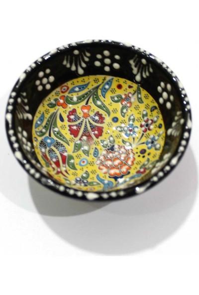 İlbay 8 cm Kütahya Dantel Çini Kase