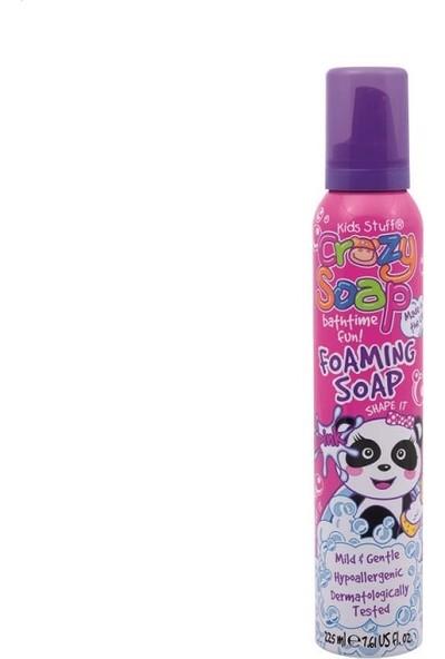 Crazy Soap Çocuklar İçin Banyo Köpüğü Pembe Renkli 225 ml