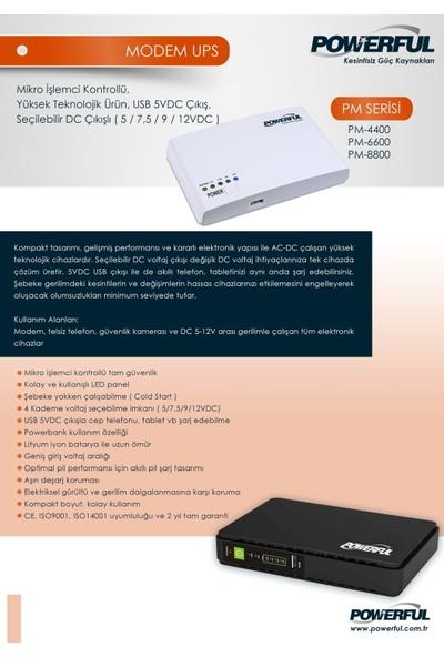 Powerful PM-6600 1000 VA Micro DC Modem UPS