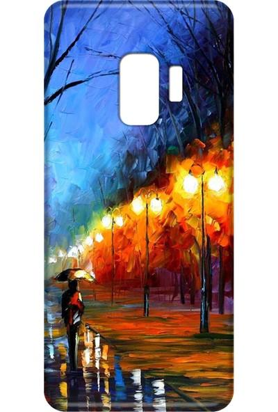 Mobilteam Samsung Galaxy S9 Tablo Silikon Telefon Kılıfı