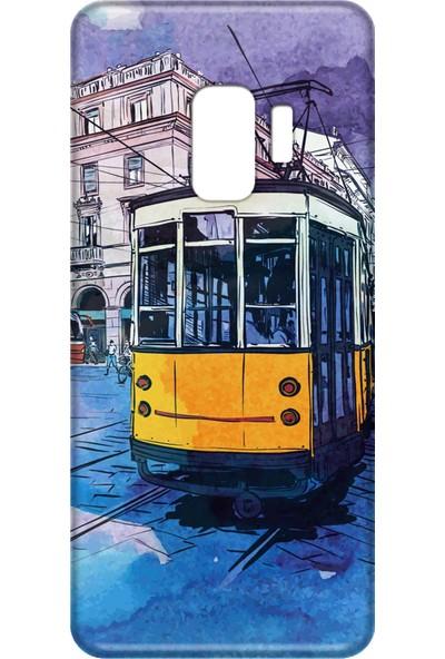 Mobilteam Samsung Galaxy S9 Tramvay Silikon Telefon Kılıfı