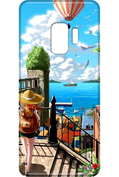 Mobilteam Samsung Galaxy S9 Tatil Silikon Telefon Kılıfı