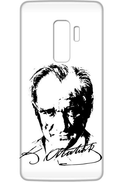 Mobilteam Samsung Galaxy S9 Plus Atatürk İmzalı Silikon Telefon Kılıfı
