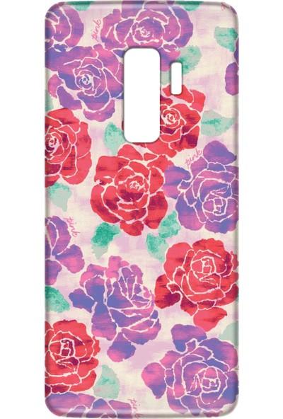 Mobilteam Samsung Galaxy S9 Plus Victoria Pink Silikon Telefon Kılıfı