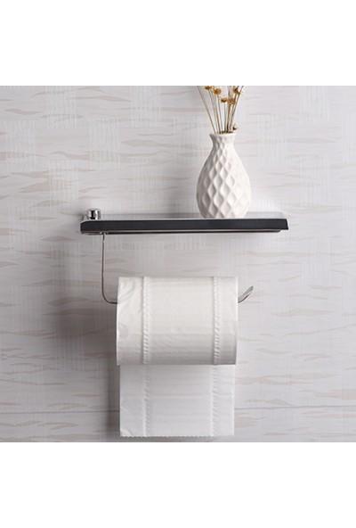 Hedi'S Cep Telefonu Raflı Krom Tuvalet Kağıtlığı