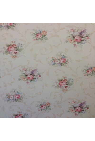 Zambaiti Çiçekli Duvar Kağıdı